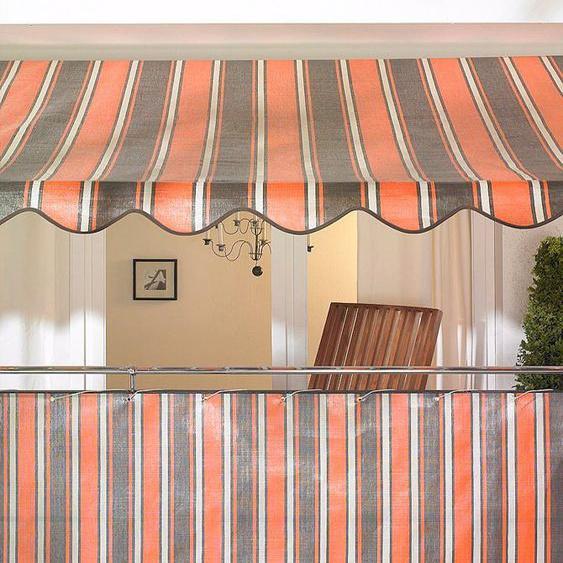Angerer Freizeitmöbel Klemmmarkise orange-braun, Ausfall: 150 cm, versch. Breiten