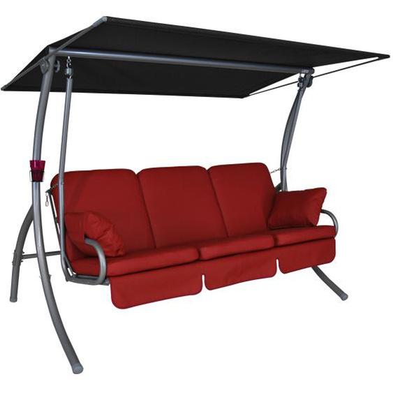 ANGERER Primero Premium Hollywoodschaukel, Stahl, 210 x 145 x 160 cm
