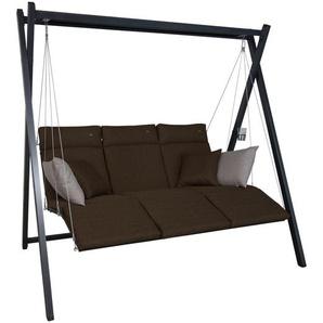 ANGERER Relax Smart Hollywoodschaukel, Stahl, 220 x 150 x 210 cm