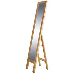 Ankleidespiegel aus Kernbuche Massivholz 40 cm