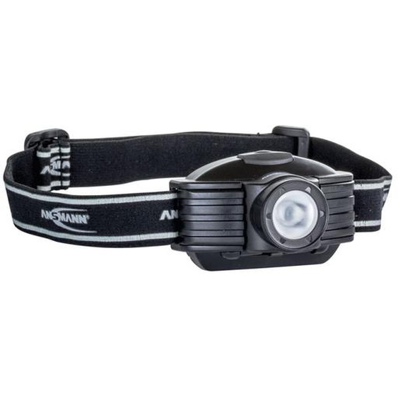 Ansmann LED Stirnlampe Future Schwarz 1600-0044