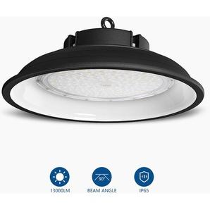 4 x LED Hallenstrahler 200W mit 26000LM in Kaltweiß(6000-6500K)| LED Hallenleuchte LED High Bay Lichts Industrial Kronleuchter Werkstattbeleuchtung | LED UFO Industrielampe Schutzart IP65 - ANTEN