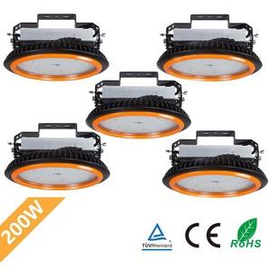 5er Anten LED High Bay Licht 26000lm 200W Kaltweiß 6000K LED Hallenleuchte/LED SMD Hallenstrahler Dank Schutzart IP65 sowohl für den Innen- als auch Aussenbereich