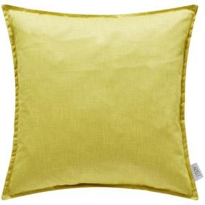 Apelt Kissen  Alaska - gelb - 100% Federfüllung - 39 cm | Möbel Kraft