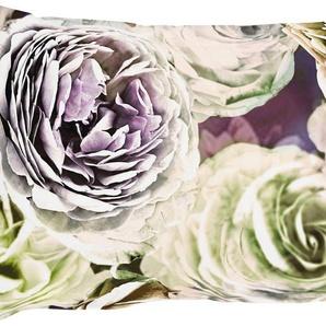 Kissenbezug »Beatrice«, APELT (1 Stück), exklusives großformatiges Blumendesign
