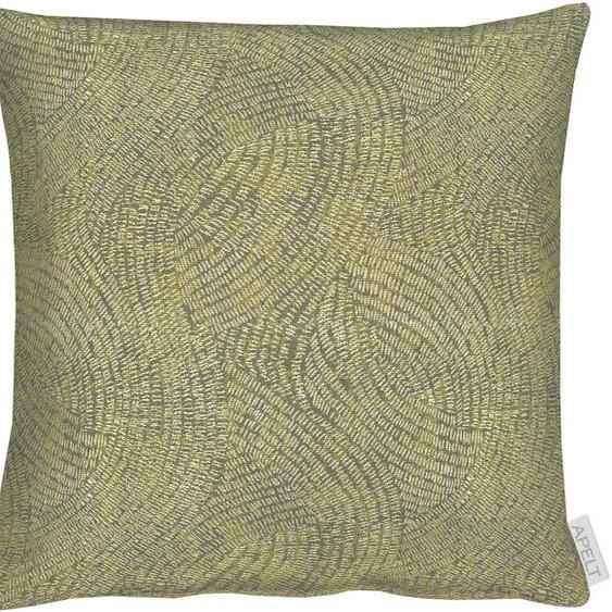 APELT Kissenhülle 1102 1x 40x40 cm, Polyester grün Kissenbezüge gemustert Kissen Kopfkissen