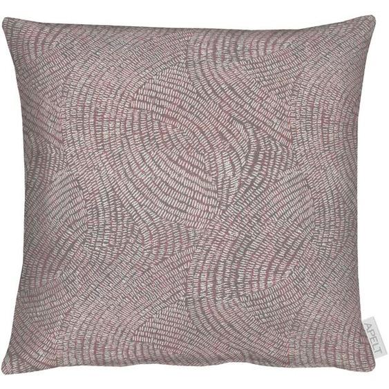 APELT Kissenhülle 1102 1x 40x40 cm, Polyester rosa Kissenbezüge gemustert Kissen Kopfkissen