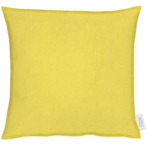 Apelt Kissenhülle »ALASKA«, 40x40 cm, gelb