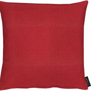 Apelt Kissenhülle »Laros«, 40x40 cm, rot