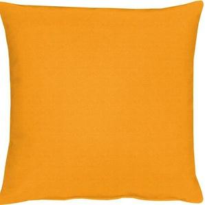 Apelt Kissenhüllen »TOSCA Leinen - Uni«, 1x 49x49 cm, orange