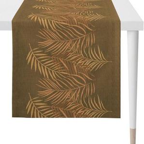 APELT Tischläufer »1306 Loft Style, Jacquard« (1-tlg), Fleckschutz
