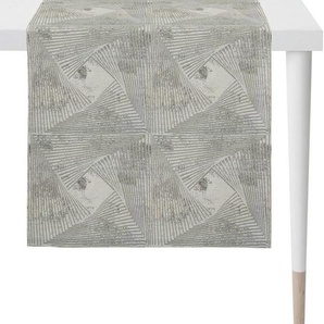APELT Tischläufer »1307 Loft Style, Jacquard« (1-tlg), Fleckschutz
