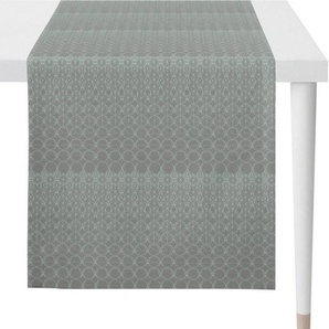 APELT Tischläufer »1308 Loft Style, Jacquard« (1-tlg), Fleckschutz
