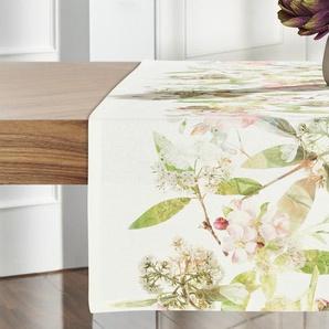 Apelt Tischläufer  Blumenäste ¦ mehrfarbig ¦ 100% Baumwolle ¦ Maße (cm): B: 45