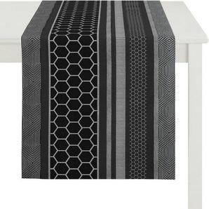 APELT Tischläufer »Loop, Loft Style, Jacquard« (1-tlg)