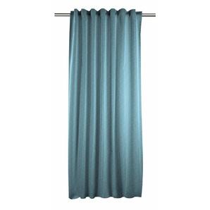 Apelt Vorhang »Casino«, H/B 245/140 cm, blau, blickdichter Stoff
