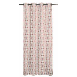 Apelt Vorhang »Kosmos«, H/B 245/135 cm, rosa, blickdichter Stoff