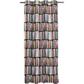 Apelt Vorhang »Libri«, H/B 244/135 cm, bunt, blickdichter Stoff