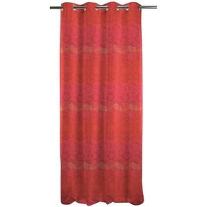 Apelt Vorhang »Tilda«, H/B 245/140 cm, rot, blickdichter Stoff