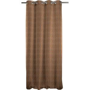 Apelt Vorhang »Toro«, H/B 245/135 cm, braun, blickdichter Stoff