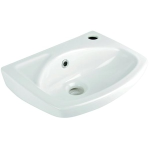 AquaSu Lucanti Handwaschbecken 35 cm, Weiß