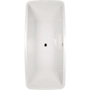 ® Acryl Duo-Badewanne Minola   Freistehende Badewanne   185 x 85 cm - Aquasu