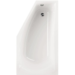 AquaSu I Acryl - Badewanne corDia I 160 x 90 cm I Weiß I Links I Wanne I Badewanne I Bad I Badezimmer