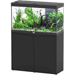 Aquatlantis Aquarien-Set Splendid 200, BxTxH: 102x40x144 cm, 249 l, mit Unterschrank in schwarz B/H/T: 101,7 cm x 61,1 40 l Aquarien Aquaristik Tierbedarf