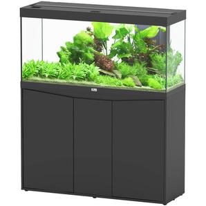 Aquatlantis Aquarien-Set Splendid 240, BxTxH: 120x40x144 cm, 294 l, mit Unterschrank in schwarz B/H/T: 120,4 cm x 61,1 40 l Aquarien Aquaristik Tierbedarf