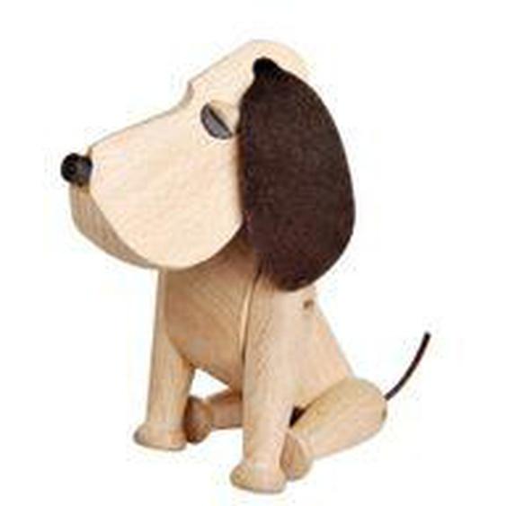 Architectmade - Holzhund Oscar H 13 cm, Buche