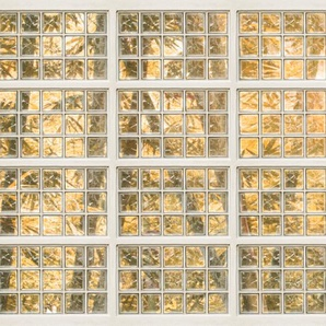 Architects Paper Fototapete Atelier 47 Brick of Glass 1, botanisch B/L: 4 m x 2,7 m, St. orange Fototapeten Tapeten Bauen Renovieren