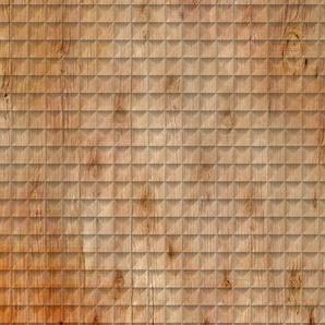 Architects Paper Fototapete Atelier 47 Square Wood 2, Holz B/L: 4 m x 2,7 m, St. braun Fototapeten Tapeten Bauen Renovieren