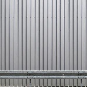 Architects Paper Fototapete Iron Wall Silver, Metall Optik, Vlies, glatt B/L: 5 m x 2,5 m, St. grau Fototapeten Tapeten Bauen Renovieren