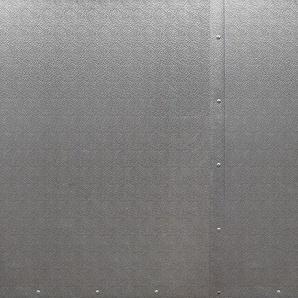 Architects Paper Fototapete Metal Section, Metall Optik, Vlies, glatt B/L: 6 m x 2,5 m, St. grau Fototapeten Tapeten Bauen Renovieren