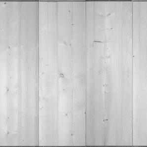 Architects Paper Fototapete Shutteringboard, Holz Optik, Holzplanken, Vlies, glatt B/L: 4 m x 2,7 m, St. grau Fototapeten Tapeten Bauen Renovieren