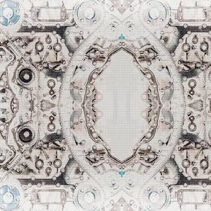 Architects Paper Fototapete »V8 Pattern«, (Set, 4 St), Vlies, glatt