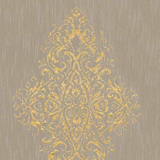 Architects Paper Textiltapete »Luxury wallpaper«, samtig, Barock, mit Ornamenten