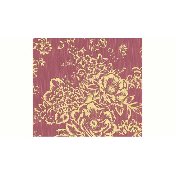 Architects Paper Textiltapete »Metallic Silk«, samtig, floral, glänzend, matt, mit Blumen