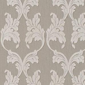 Architects Paper Textiltapete »Tessuto«, samtig, Barock, floral, mit Ornamenten
