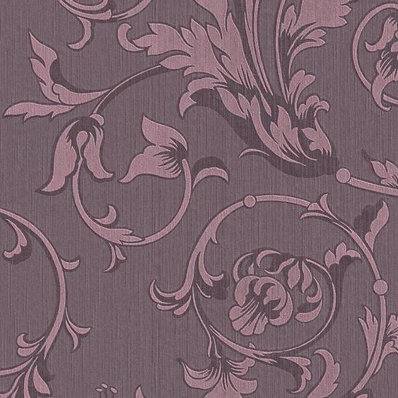 Architects Paper Textiltapete »Tessuto«, samtig, floral, Barock, mit Ornamenten