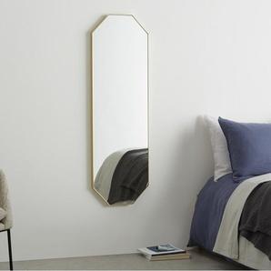 Arles achteckiger Spiegel (40 x 120 cm), Messing