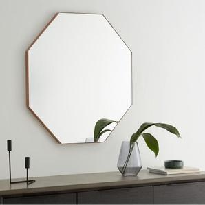 Arles achteckiger Spiegel (80 x 80 cm), Rosegoldfarben