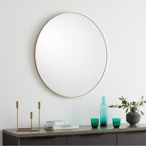 Arles runder Spiegel (85 cm), Rosegold