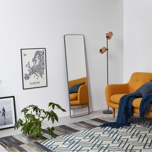 Arles Spiegel (48 x 160 cm), Grau
