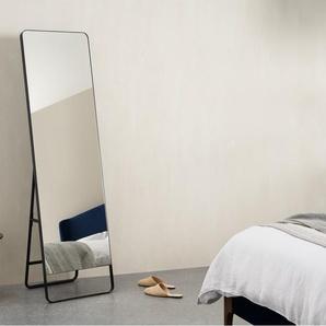Arles Spiegel (48 x 160 cm), Mattschwarz