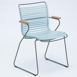 Armlehnstuhl Click Houe blau, Designer Henrik Pedersen