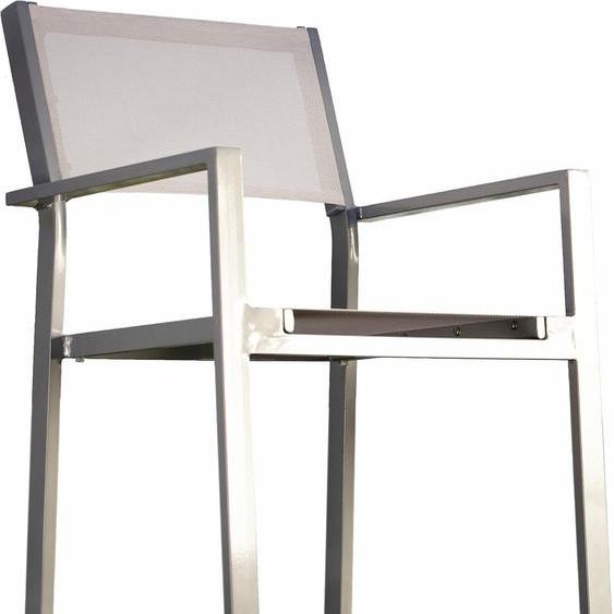 Armlehnstuhl, weiß, Material Holz »cubic«, jankurtz, bis 50 cm, 45 cm, 42 cm