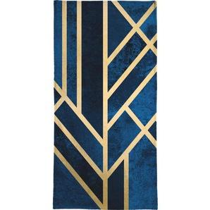Art Deco Midnight - Handtuch