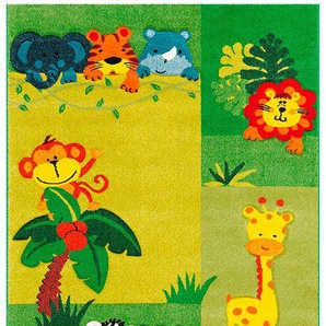 Arte Espina Kinderteppich Move 4480, rechteckig, 13 mm Höhe B/L: 120 cm x 170 cm, 1 St. bunt Kinder Bunte Kinderteppiche Teppiche
