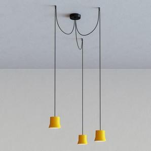 Artemide - Giò light Cluster Pendelleuchte - yellow - indoor
